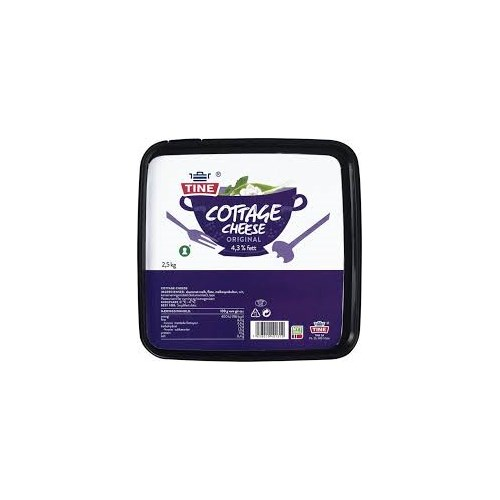 COTTAGE CHEESE 2,5 KG TINE