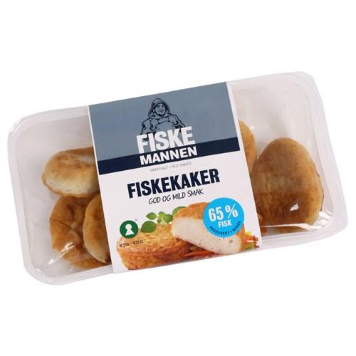 FISKEKAKER 400GX10PK FISKEMANNEN