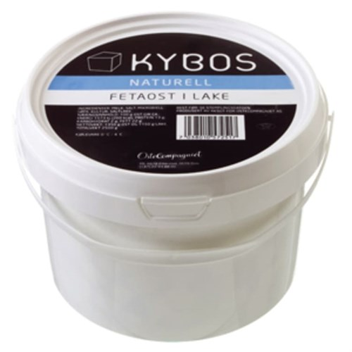 FETAOST KYBOS NAT. 2,5KG TINE