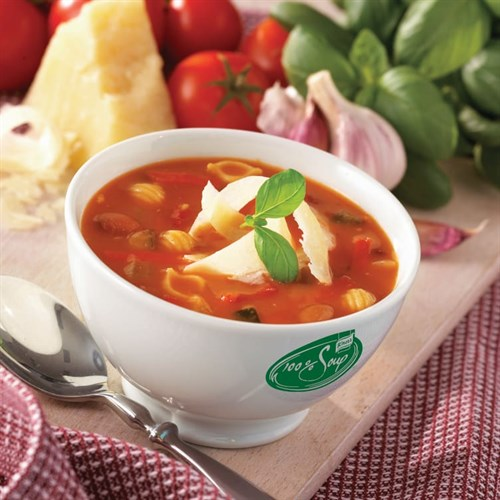 SUPPE 100% MINESTRONE 2,5LX4STK KNORR