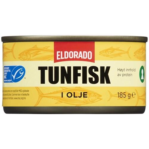 TUNFISK I OLJE 185GX12STK ELDORADO