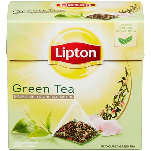 GREEN TEA PYRAMID 20POSX12PK