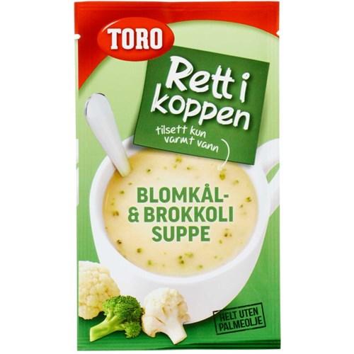 R.I.K BLOMKÅL/BROKKOLI SUPPE 22GX20POS