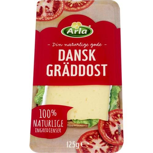 DANSK GREDDOST SKIVET 125GX8PK