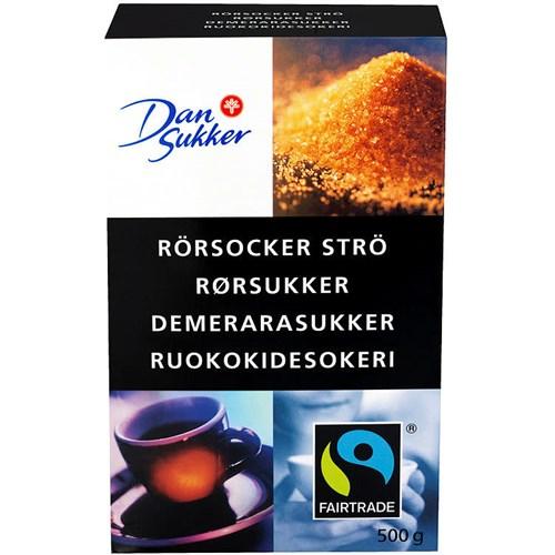 RØRSUKKER STRØ DEMERARA 500GX7PK UNIL