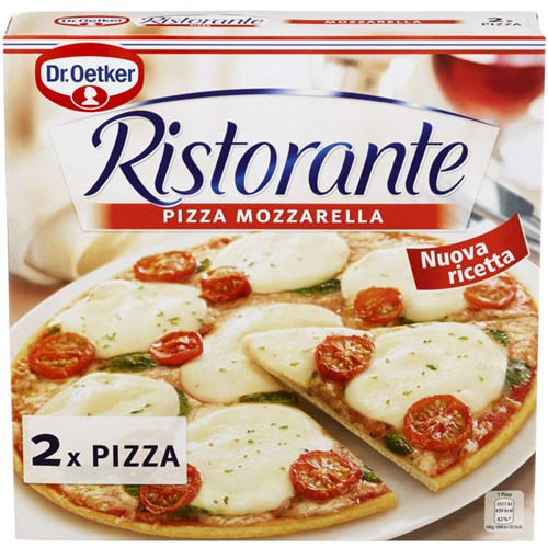 PIZZA RISTORANTE MOZZARELLA 2PKX3PK