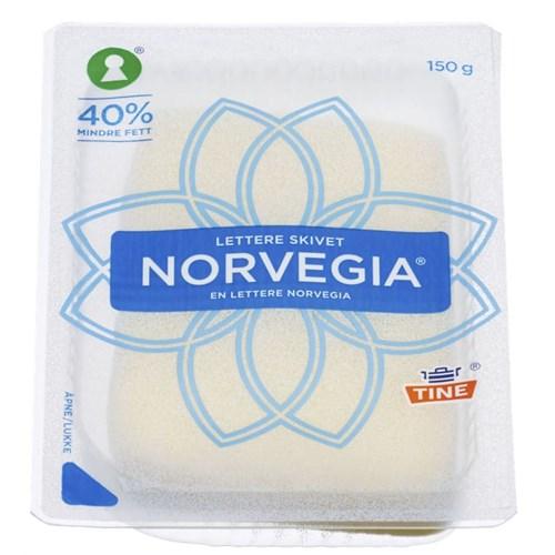 NORVEGIA LETT 16% SKIVER 150GX12PK TINE