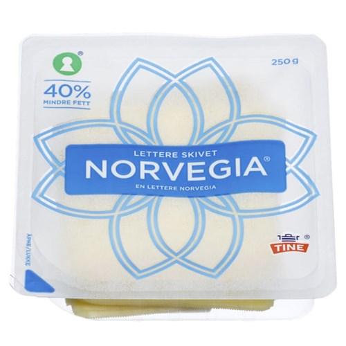 NORVEGIA LETT 16% SKIVER 250GX16PK TINE