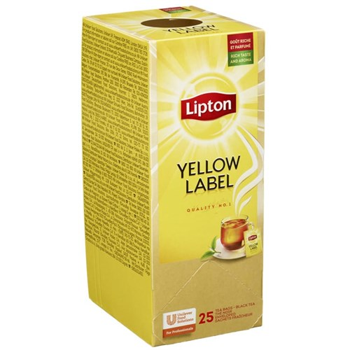 TE LIPTON YELLOW LABEL 25POSX6PK