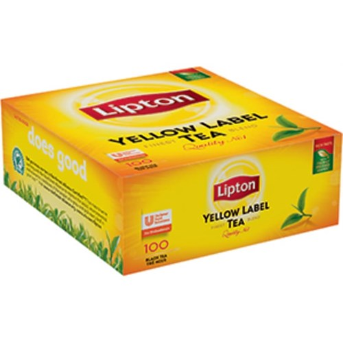 TE LIPTON YELLOW LABEL.M/KONV. 100POSX12PK