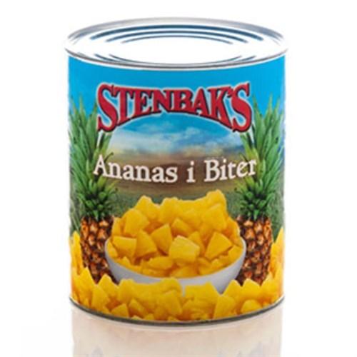 ANANAS I BITER I JUCICE 12X850GR STENBAK
