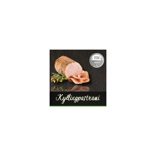 KYLLINGPASTRAMI SKÅRET 0,5KG PERS