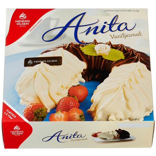 ANITA ISKAKE HÅNDPYNTET 1,2LX2STK HENNIG-OLSEN