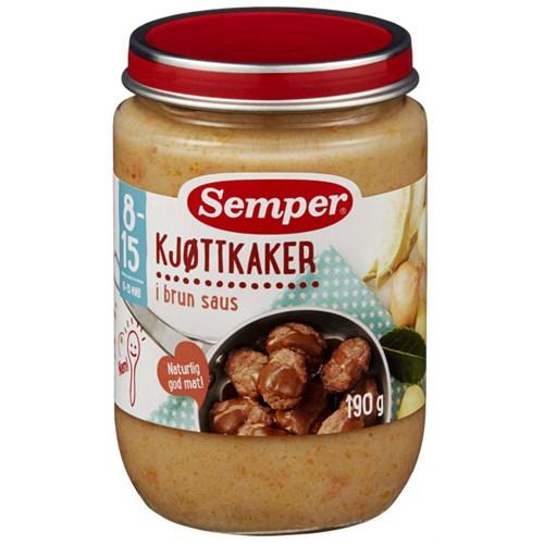 KJØTTKAKER 8MND 190GX6GL SMÅFOLK