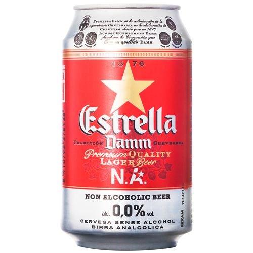 ESTRELLA DAMM ALKOHOLFRI 0,33LX24BX