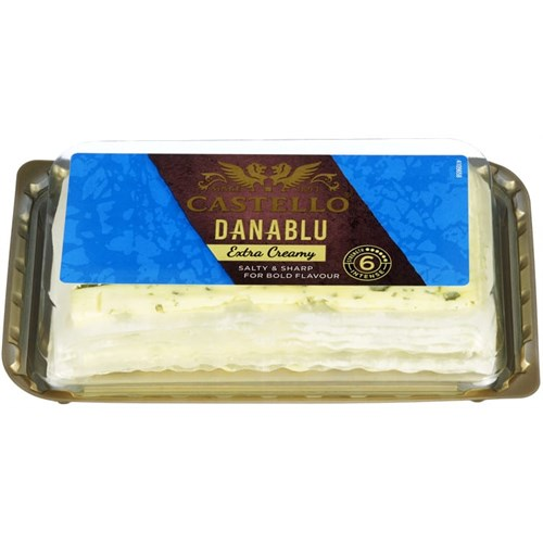 CASTELLO DANABLU SKIVET 125GX8PK