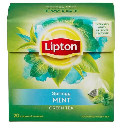GREEN TEA MINT PYRAMIDE 20POSX12PK LIPTON