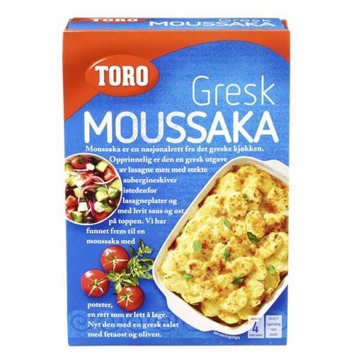 MOUSSAKA GRESK 136GX5POS TORO