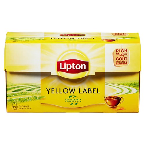 YELLOW LABEL TEA 25POSX12PK LIPTON