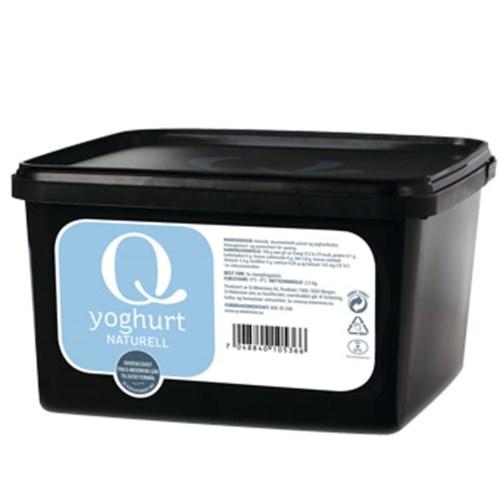 YOGHURT NATURELL Q-MEIERIENE 2,5KG