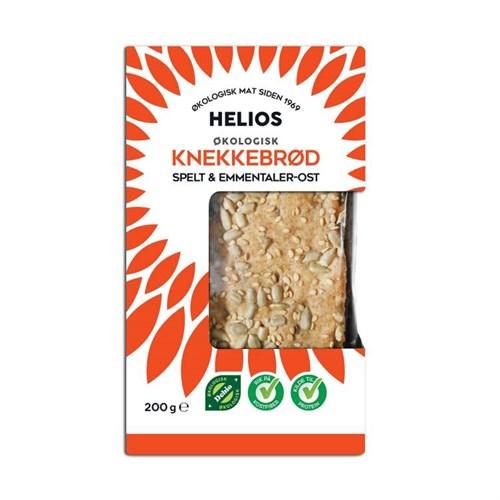 SPELTKNEKKEBRØD M/OST ØKOL. 200GX10PK HELIOS