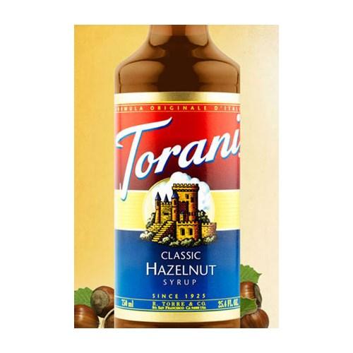 SIRUP HAZELNUT TORANI 75CL