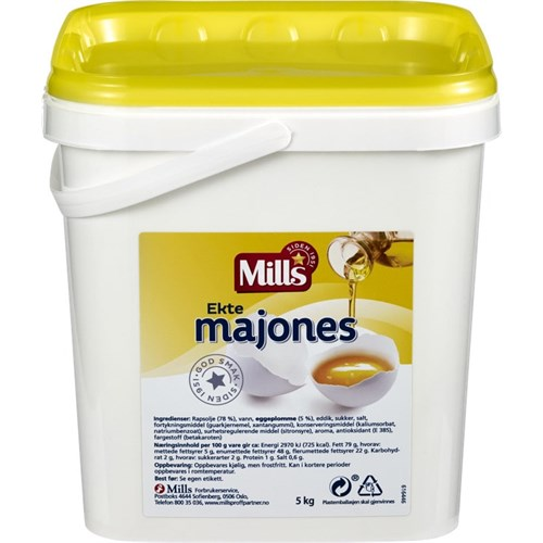 MAJONES EKTE 5KG MILLS