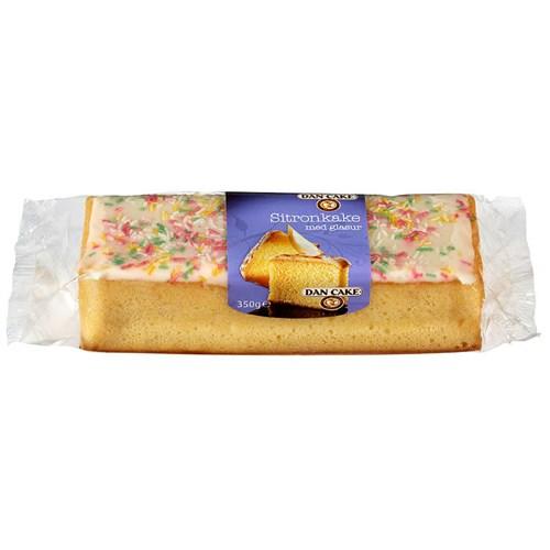 SITRONKAKE M/GLASUR 350GX6STK DAN CAKE