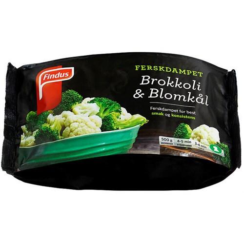 BROKKOLI&BLOMKÅL 500GX12POS FINDUS