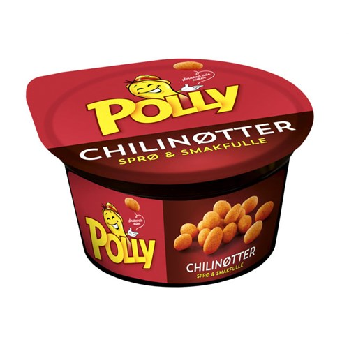 CHILINØTTER POLLY I BEGER 70GX32STK