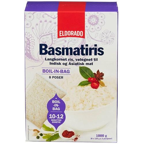 BASMATIRIS BOIL IN BAG 1KGX10PK ELDORADO
