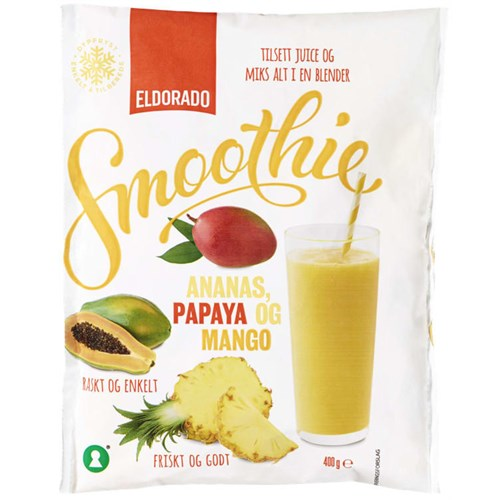 SMOOTHIE MIX ANANAS/MANGO/PAP 400GX10POS