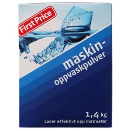 MASKINOPPVASK PULVER 1,4KGX6PK FIRST PRICE
