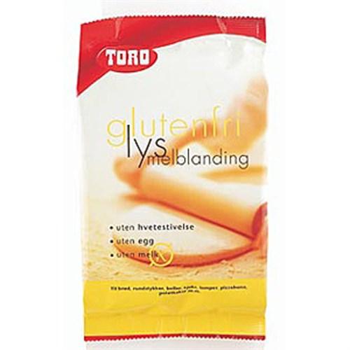 MELBLANDING LYS GLUTENFRI 375GX5POS TORO