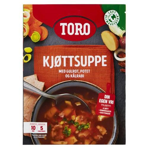 KJØTTSUPPE M/GRØNNSAKER 81GX11POS TORO