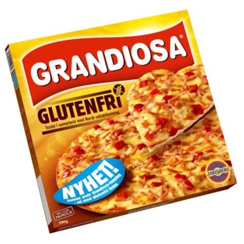 PIZZA GRANDIOSA GL.FRI 625GX10STK