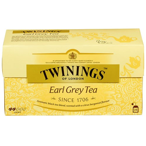 EARL GREY TEA 25POSX12PK TWININGS