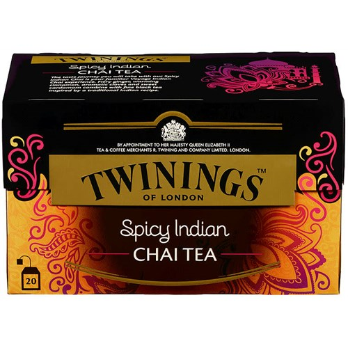 TE SPICY INDIAN CHAI 20POSX12PK TWININGS