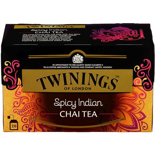 TE SPICY INDIAN CHAI 20POSX12PK TWININGS