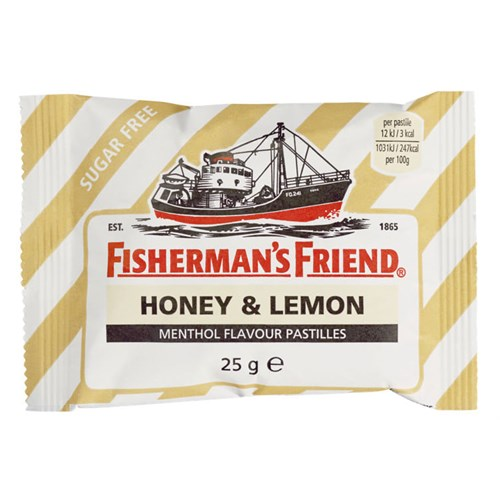 FISHERMANS FRIEND HONEY&LEMON 25GX24POS