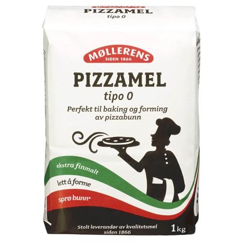 PIZZAMEL TIPO-00 1KGX10POS MØLLERENS