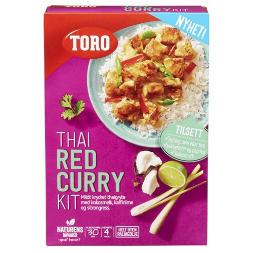 THAI RED CURRY KIT 279GX5PK TORO