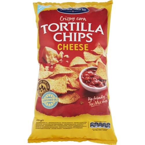 TORTILLA CHIPS CHEESE 475GX12 POS S.M