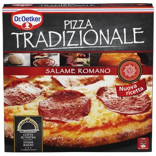 PIZZA TRADIZIONALE SALAME ROMANA 370G