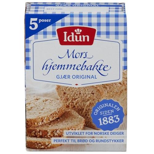 GJÆR TØRR ØKOPK.5STKX10PK IDUN