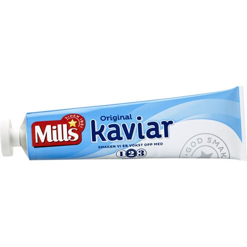 KAVIAR I TUBE 185GX16STK MILLS