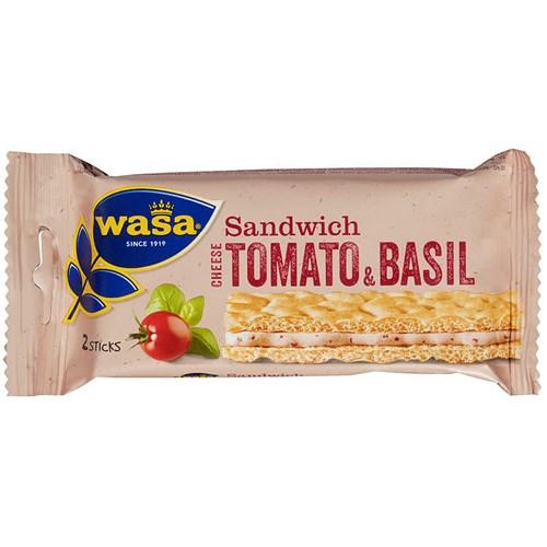 SANDWICH CHEESE TOMAT&BASILIKUM 40GX24PK WASA