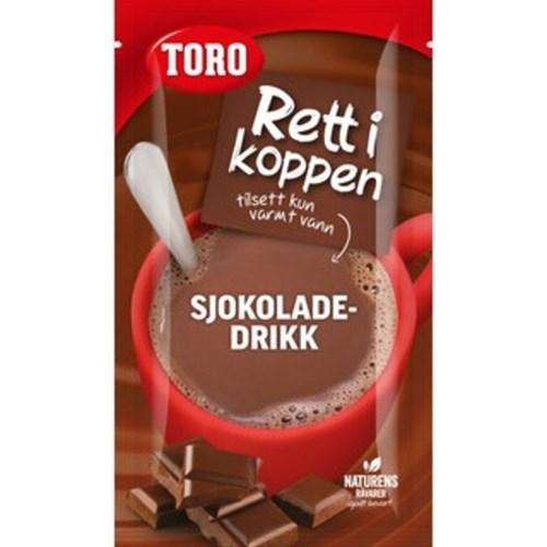 SJOKOLADEDRIKK 34G 16STKX4PK TORO
