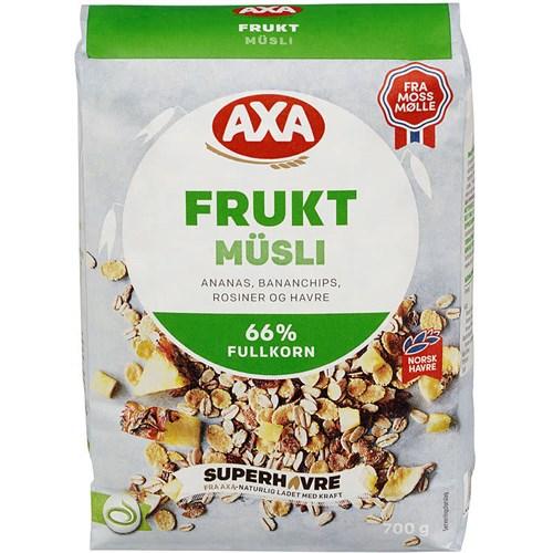 AXA GO`DAG FRUKTMUSLI 700GX12POS