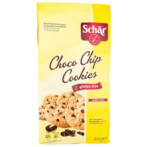 CHOCO CHIP COOKIES GLUTENFRI 200GX12POS SCHAR